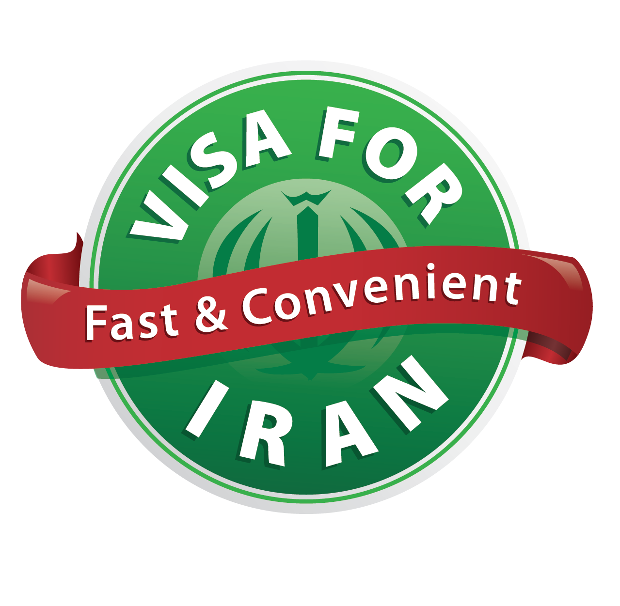 visa for iran logo